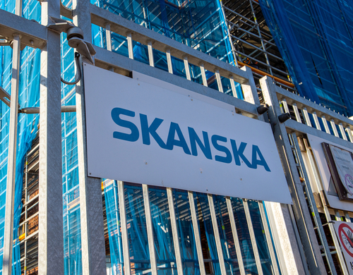 Skanska to power site equipment with vegetable oil