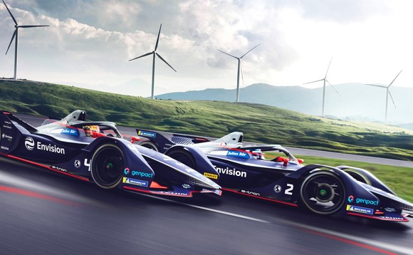 First carbon neutral Formula E team