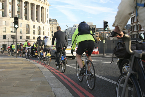 TfL asks construction to cycle to work