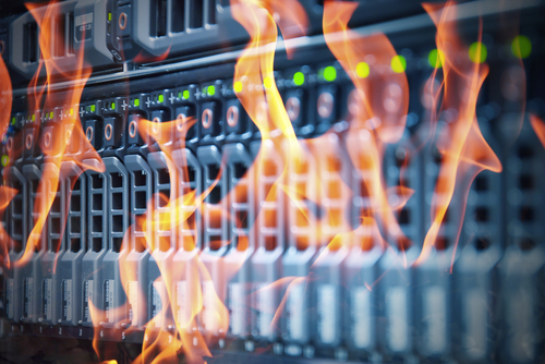 Data centre fire knocks out millions of websites