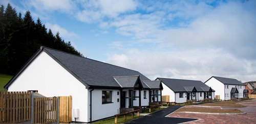 Wales housing scheme meets highest energy efficiency standards