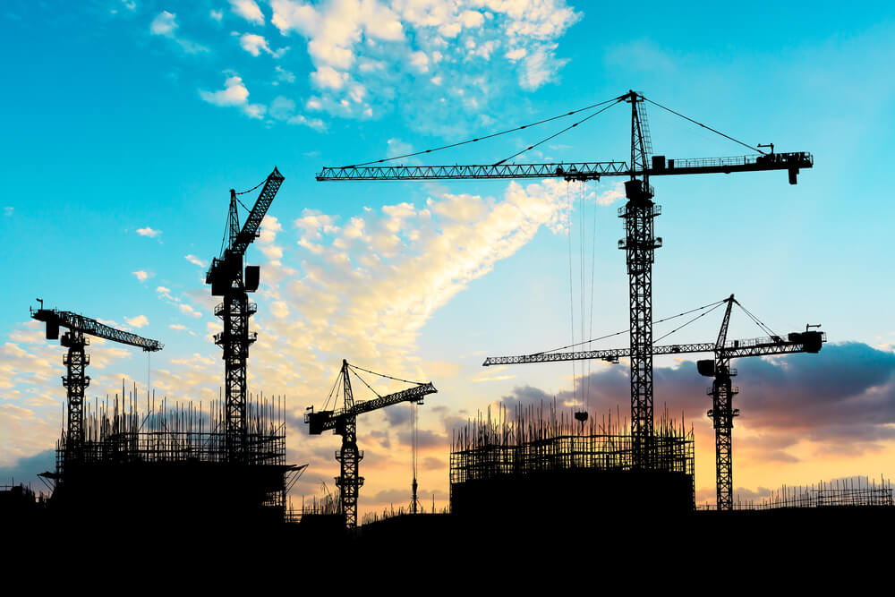 Construction falls by 35 per cent in Q2
