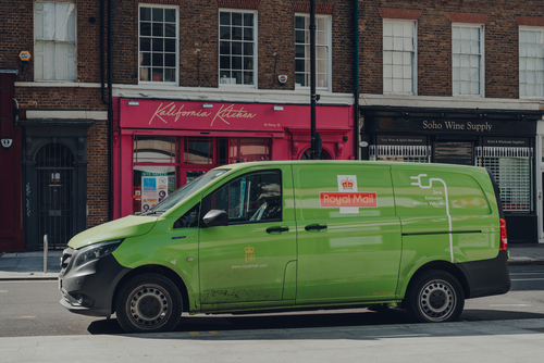 Royal Mail rolls out new EV fleet