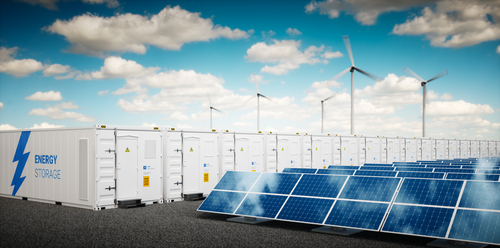 Giant batteries boost UK grid
