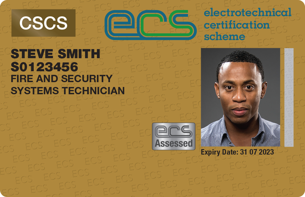 New fire and security ECS cards