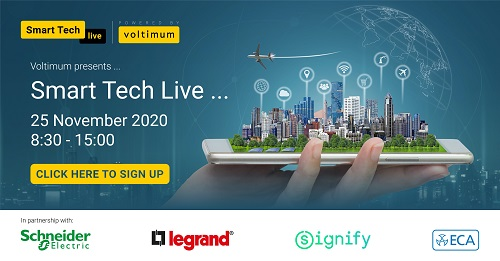 Join Smart Tech Live on 25 Nov