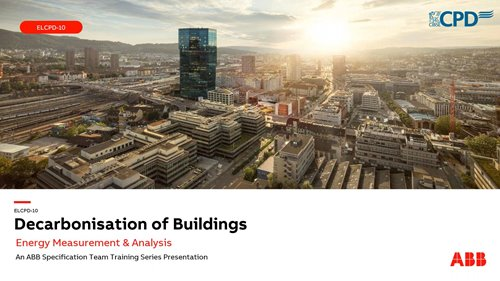 Webinar replay: Decarbonising buildings with ABB